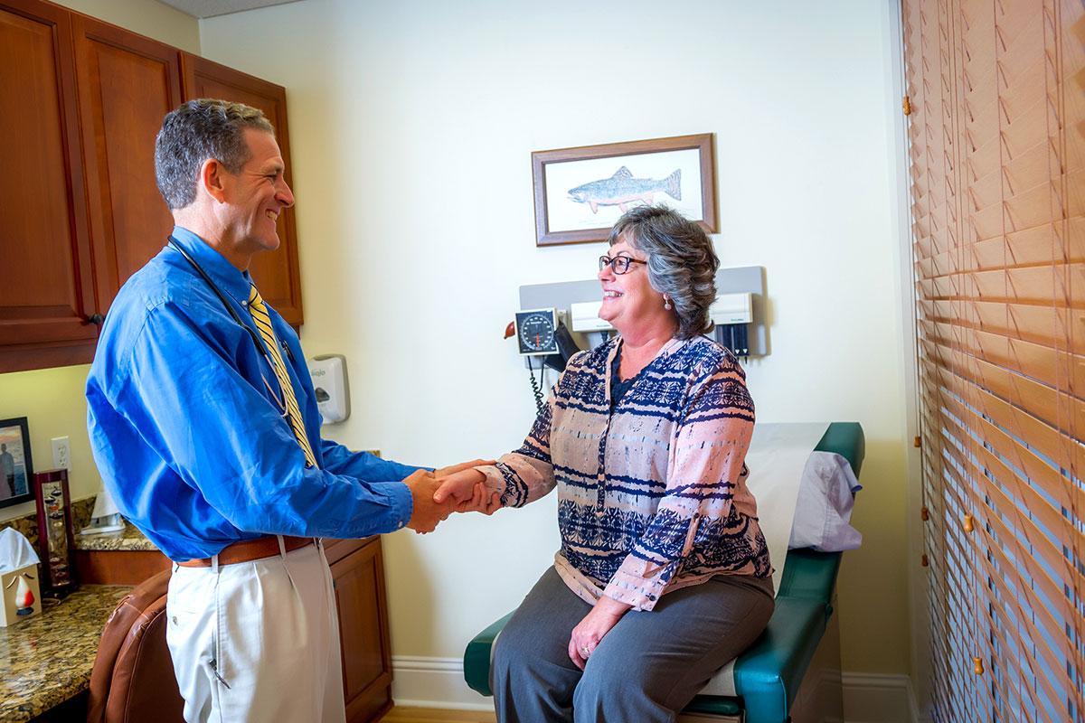 Patient Greeting | Dr. Paul Jones M.D.