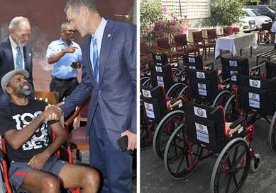 Rotary Club Wheel Chair Donations | Dr. Paul Jones M.D.